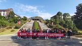 2020环中国自驾游集结赛万里茶道修水站发车仪式开启,首站来到宁红茶文化园