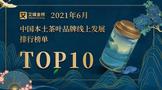 2021年6月ub8用户登录国本土茶叶品牌线上发展排行榜Top10