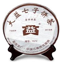 2006年大益 7572 (602-608批) 熟茶 357克