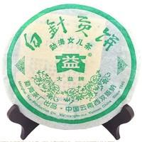 2006年大益 白针贡饼 601批 生茶 250克