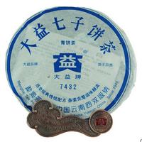 2006年大益 7432 601批 生茶 357克