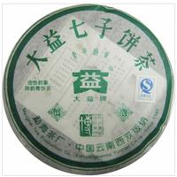 2005年大益 金色韵象 501批 生茶 200克