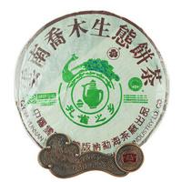 2004年大益 孔雀之乡乔木生态饼茶 401批 生茶 400克