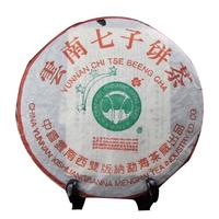 2003年大益 班章四星青饼 生茶 400克