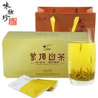 2021年味独珍 蒙顶黄芽铁盒 黄茶 120克