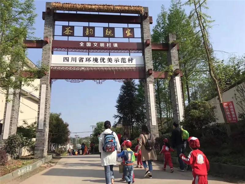 乡村振兴 :雨城区魏家村,茶旅融合发展之路 美了乡村富了农家