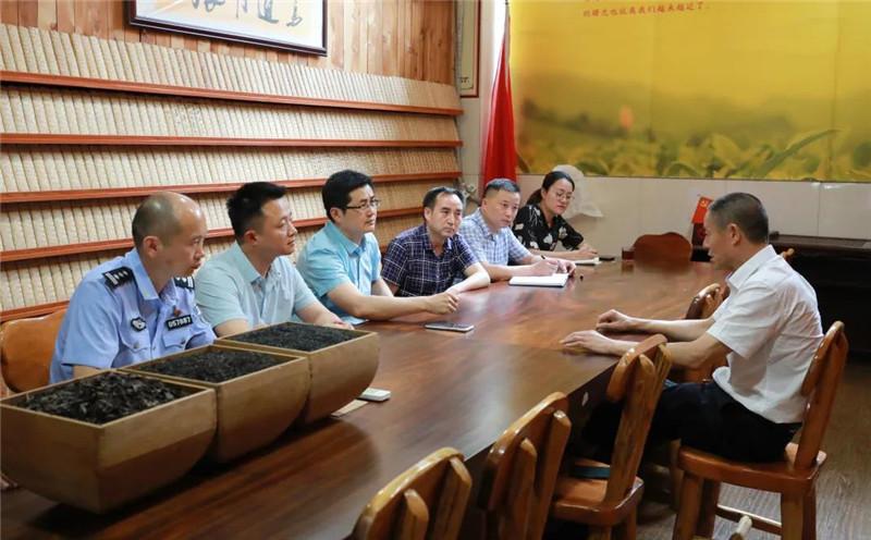陈建伟调研藏茶企业发展现状 鼓励企业积极入驻以藏茶产业为引领的现代农业园区 抱团发展