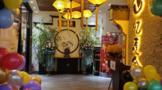 恭祝西宁莲舍茶餐厅周年庆典暨百茶宴佳茗书画品鉴会圆满成功
