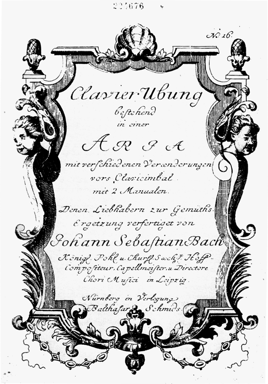 Goldberg titlepage