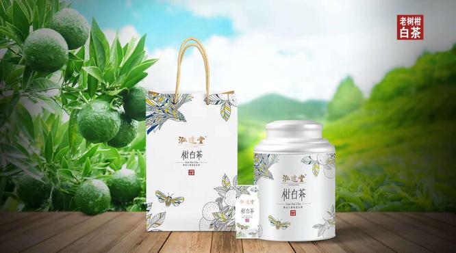 白茶韵|泓达堂·小青柑白茶:柑溢香!