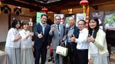 十余位驻华使节参访福州,为福州茉莉花茶点赞