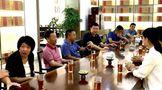 柘荣县茶产业考察组莅鼎考察福鼎白茶产业