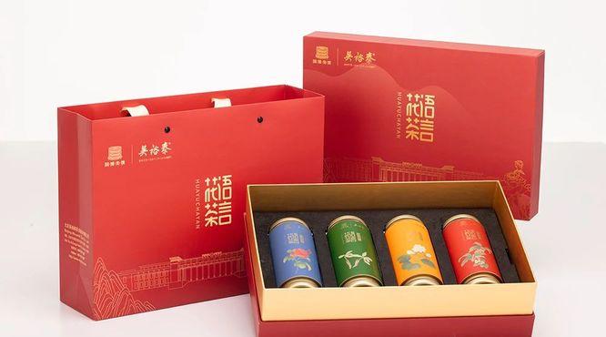 吴裕泰跨界中国国家博物馆旗下国博美馔,花语表茶言!