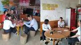 六堡镇:山坪村2小时完成1000多亩六堡茶园种植申报