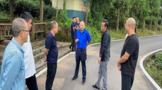 雅安市:农业农村局巫英剑一行赴新添镇茶产业园区调研