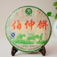2007年天弘 伯仲饼 生茶 400克