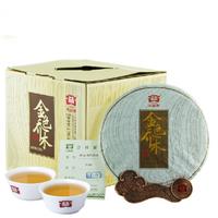 2014年大益 金色乔木 生茶 357克