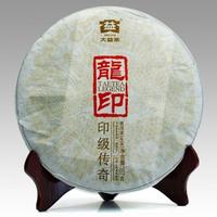2012年大益 龙印青饼 201批 生茶 357克