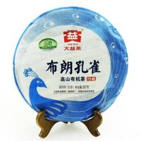 2012年大益 布朗孔雀高山有机茶 201批 生茶 357克
