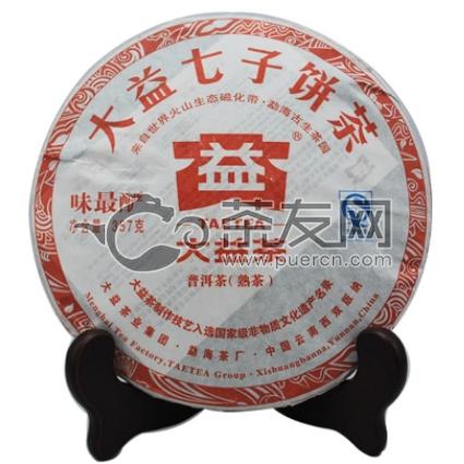 2011年大益 味最酽熟饼 101批 熟茶 357克