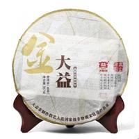 2011年大益 金大益青餅 101批 生茶 357克
