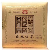 2010年大益 九九方茶 001批 熟茶 81克
