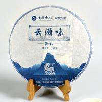 2014年七彩云南 云滋味 生茶 357克