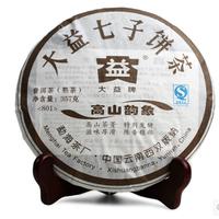 2008年大益 高山韵象 801批 熟茶 357克