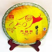 2009年大益 奔牛青饼 901批 生茶 400克