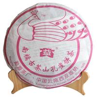 2006年大益 南糯山孔雀饼茶 601批 生茶 400克