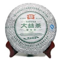 2013年大益 高山韵象 1301批 生茶 357克