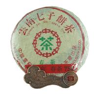 2002年大益 中茶绿印春茶7542 生茶 357克