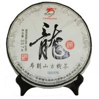 2014年龙园号 龙饼 生茶 357克