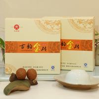 2015年天弘 古韻金磚 熟茶 600克