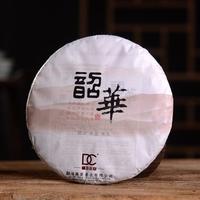 2017年巅茶 韶华 生茶 357克