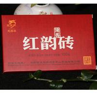 2017年龙园号 红韵砖(陈香) 熟茶 100克