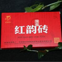 2017年龙园号 红韵砖(糯香) 熟茶 100克
