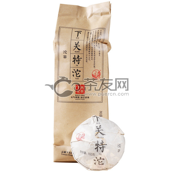 2019年下关沱茶 便装特沱 生茶 100克
