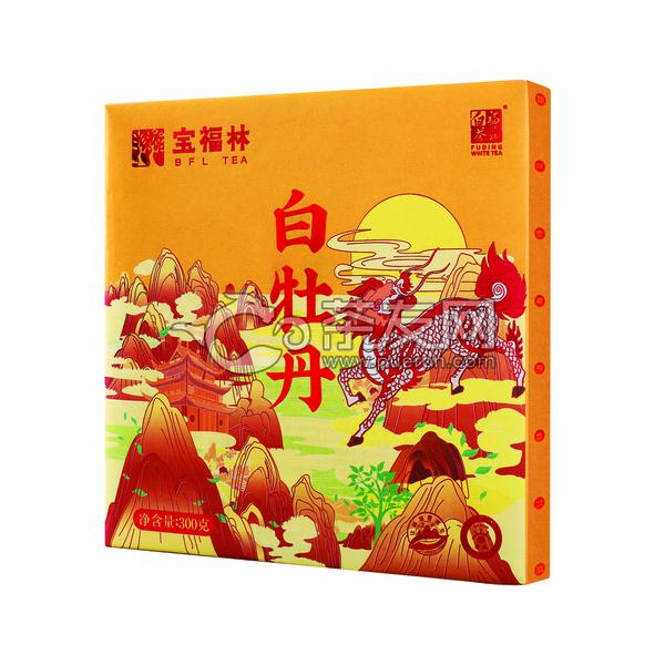 2019年宝福林 微观系列 · 松压白牡丹  福鼎白茶 300克
