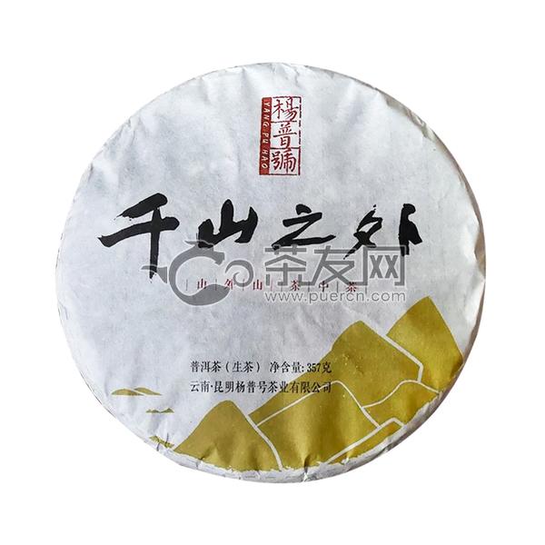 2019年杨普号 千山之外 生茶 357克