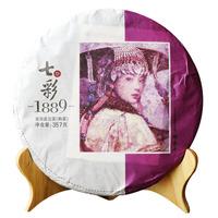 2017年七彩云南 七彩1889 熟茶 357克