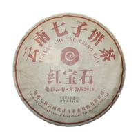 2018年七彩云南 红宝石 熟茶 357克
