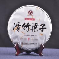 2019年石雨益昌号 滑竹梁子 生茶 380克