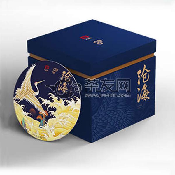 2020年大益 沧海 2001批 生茶 357克