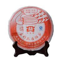 2008年大益 孔雀系列 南糯孔雀 801批 生茶 400克