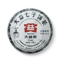 2010年大益 7542青饼 001批 生茶 357克