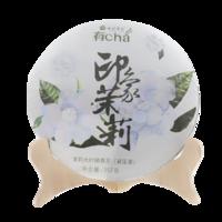 2018年七彩云南 印象茉莉 生茶 357克