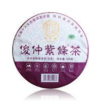 2019年俊仲号 俊仲紫条茶 熟茶 400克