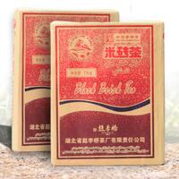 2017年赵李桥 火车头米砖茶 黑茶 1000克