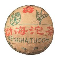 2002年大益 勐海红丝带青沱 生茶 250克